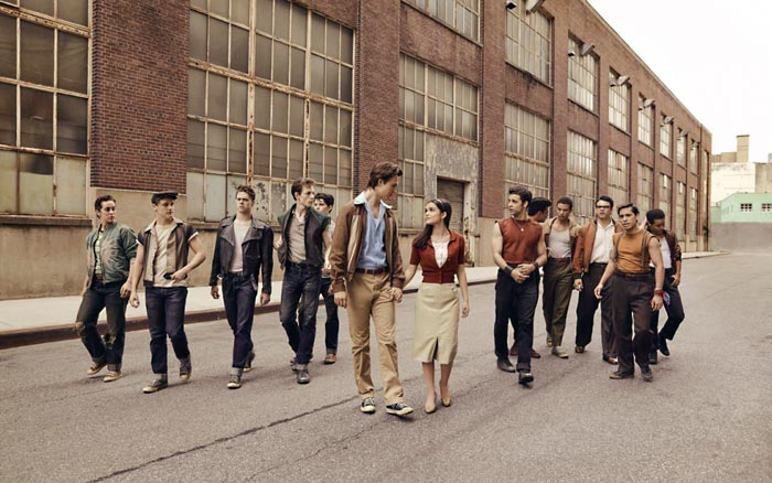 west side story le tournage