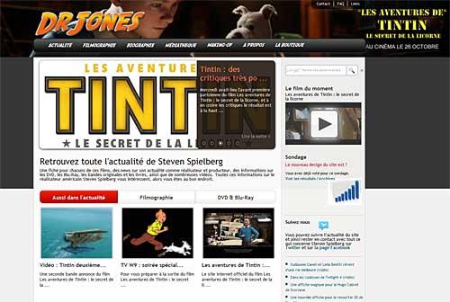 Nouveau site www.drjones.fr